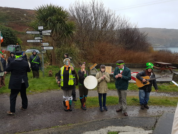St Patricks Day on Cape Clear Island