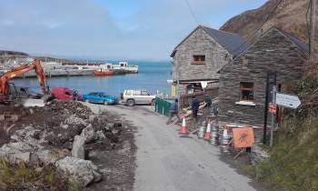 Harbour works Cape Clear